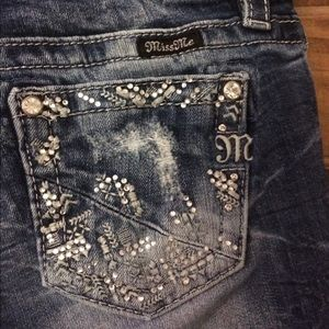Girls miss me jeans size 16
